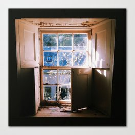 Morning Window Canvas Print