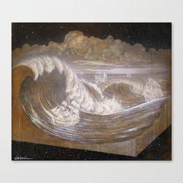 """Rogue Waves"" Canvas Print"