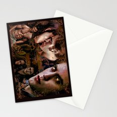 Eclipse Tribute by Martoni (Pattinson, Stewart, Lautner) Stationery Cards