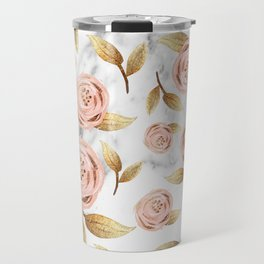 Blushing blooms Travel Mug