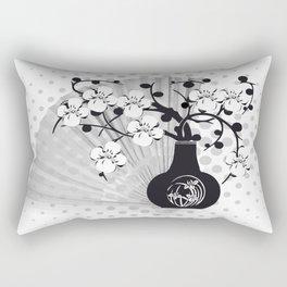 Stillleben Kirschblüten Rectangular Pillow
