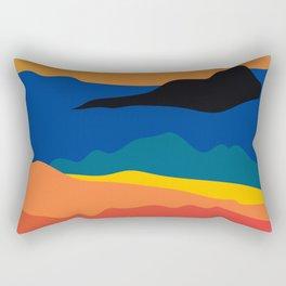 Sea Glow Rectangular Pillow