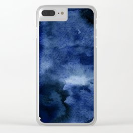 INDIGO ABSTRACT I Clear iPhone Case
