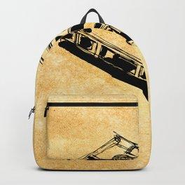 Retro Cassette Tape Backpack