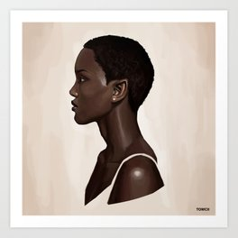 Elf Portrait Art Print