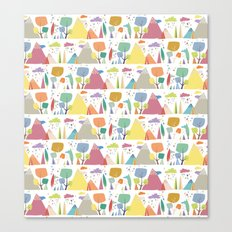 Spring pattern 3 Canvas Print