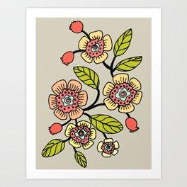 joli printemps Art Print
