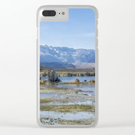 Mono Lake Tufa, No. 5 Clear iPhone Case