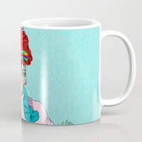 dorothy Mugs featuring Dorothy Gale by DIVIDUS