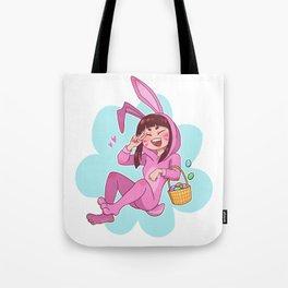 Easter Bunny D.Va Tote Bag
