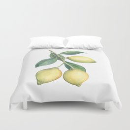 Lemon Dreams Duvet Cover