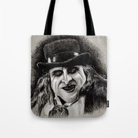 pen Tote Bags featuring Pen by chadizms