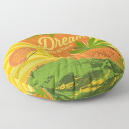 TANGERINE DREAM Floor Pillow