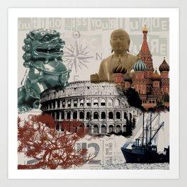 Multicultural 2 Art Print