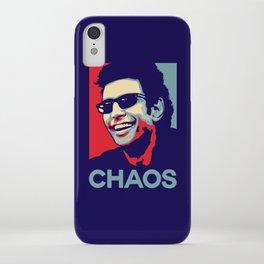 'Chaos' Ian Malcolm (Jurassic Park) iPhone Case