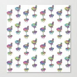 cream cult cocktail Canvas Print