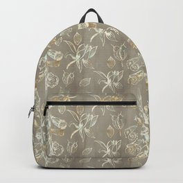 Foxglove Pattern Backpack