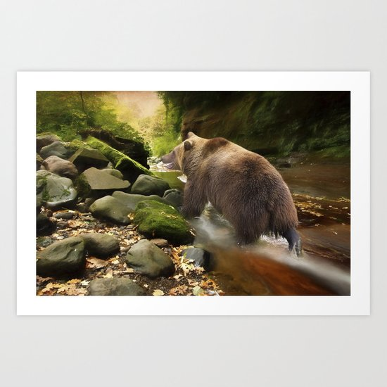 Grizzly Creek Art Print