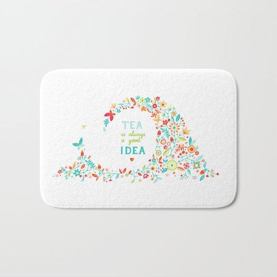 Tea Idea Bath Mat