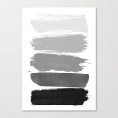 Greytone; Canvas Print