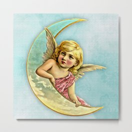 Victorian Angel Metal Print