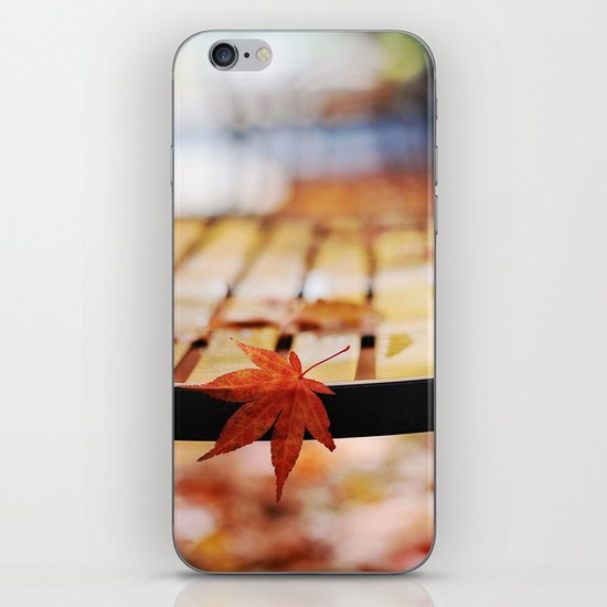 Holding on... iPhone & iPod Skin