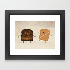 Slice! Framed Art Print