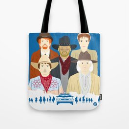 1885 (Faces & Movies) Tote Bag