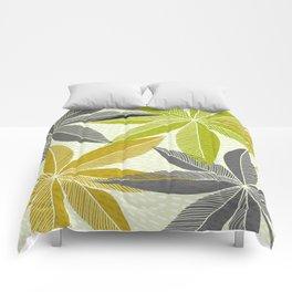 Modern Hawaiian Print Comforters