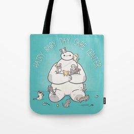 Hairy Baby Day Care Center Tote Bag