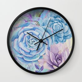 Lety's Lovely Garden Wall Clock