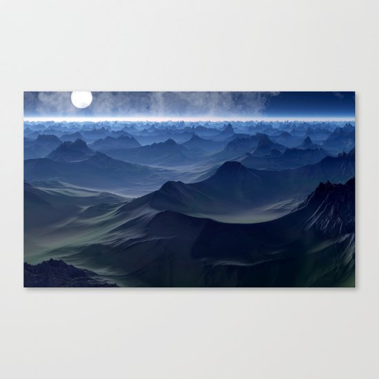 planetary discoveries Canvas Print