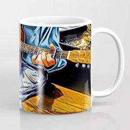 Guitar Man - Graphic 1 Coffee Mug