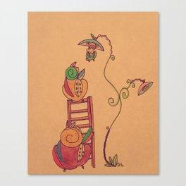 Russian Fruits Canvas Print