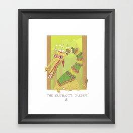 The Elephant's Garden - The Perpetual Glibb Framed Art Print