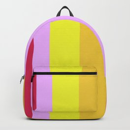 Striped Color Pastels Backpack