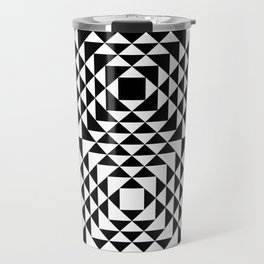 Geometric Tribal Travel Mug