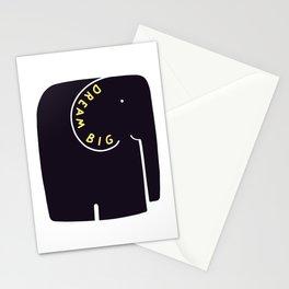 Dream Big Elephant Stationery Cards
