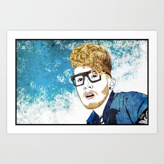 Daley Art Print