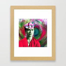 Frida Love's Freeda Framed Art Print