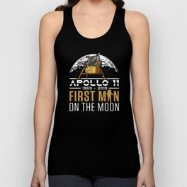 50th Anniversary Apollo 11 First Man on the Moon graphic Unisex Tank Top