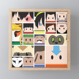 The Four Nations Framed Mini Art Print