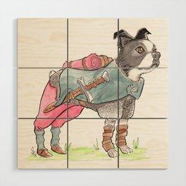 DogDays19 Vinny Wood Wall Art