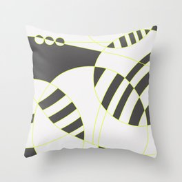 homenaje al gran W Throw Pillow