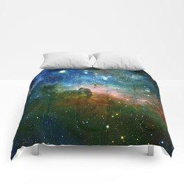 Hidden Secrets of Carina Nebula Comforters