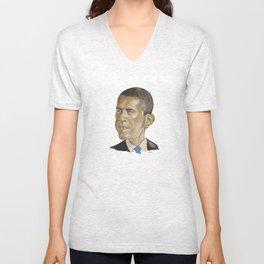 Barack Obama (US President) Unisex V-Neck