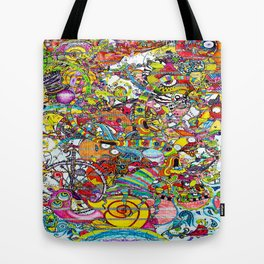 Illustration Bomb Tote Bag