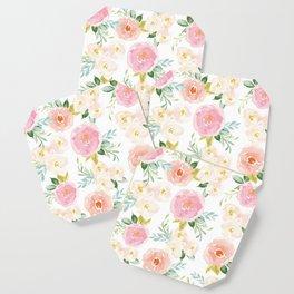 Floral 02 - Medium Flowers Coaster