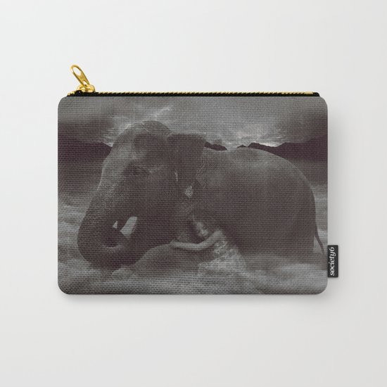 Having a Soft Heart In a Cruel World Carry-All Pouch