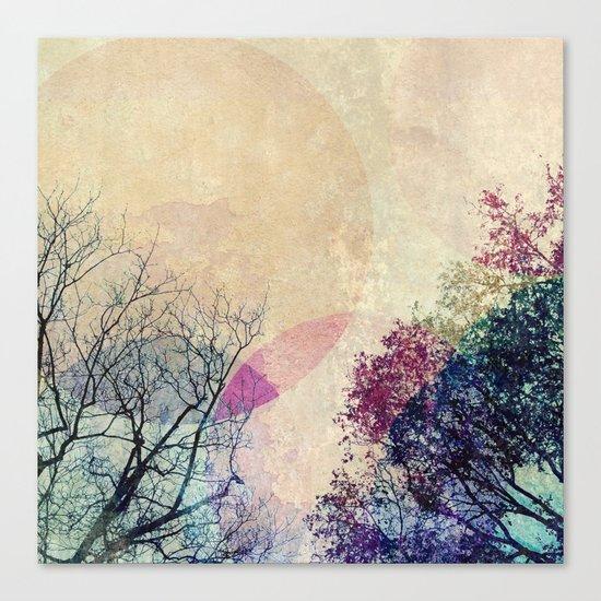 2 Trees Canvas Print